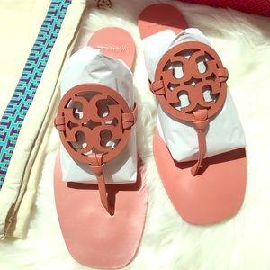 NIB Tory Burch Miller Square Sandal Size 10